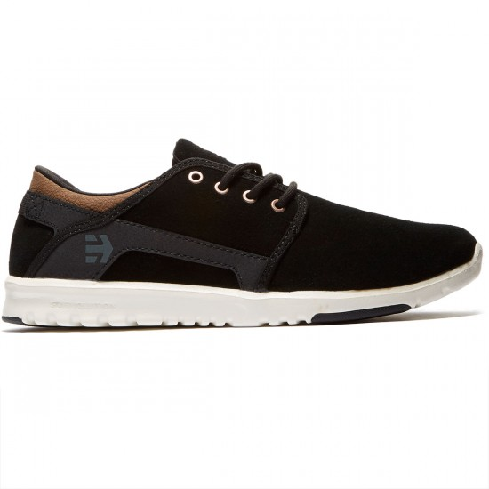 Etnies Scout Shoes - Black/Brown - 8.0