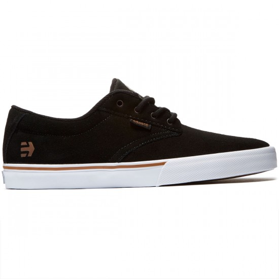 Etnies Jameson Vulc Shoes - Black/White/Gum - 8.0
