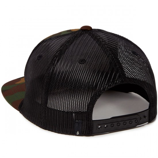 Altamont Hitch Corded Trucker Hat - Camo