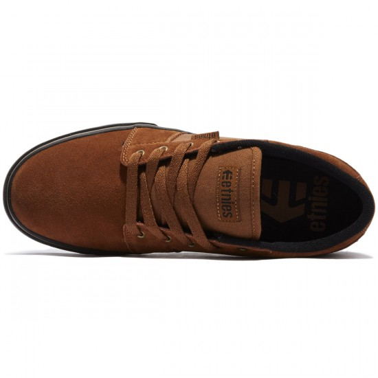 Etnies Barge LS Shoes - Brown/Black/Gum - 8.0