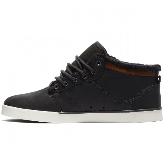 Etnies Jefferson Mid Shoes - Dark Grey - 8.0
