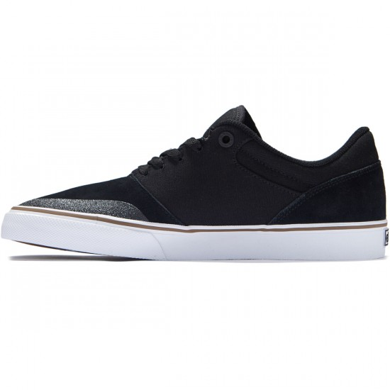Etnies Marana Vulc Shoes - Black/White/Gum - 8.0