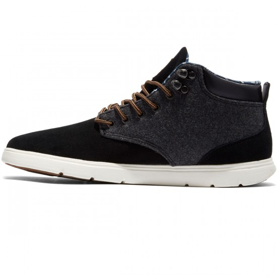 Emerica Wino Cruiser HLT Shoes - Black/White/Yellow - 8.0