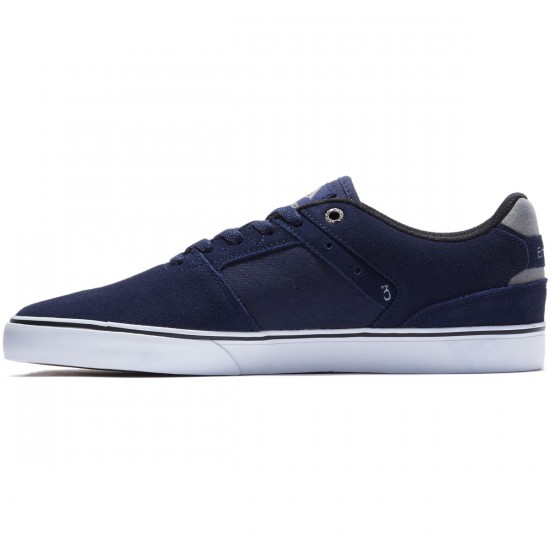 Emerica The Reynolds Low Vulc Shoes - Navy/Grey/White - 8.0