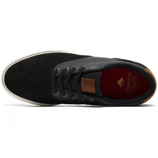 Emerica Provost Slim Vulc Shoes - Black/Brown - 8.0