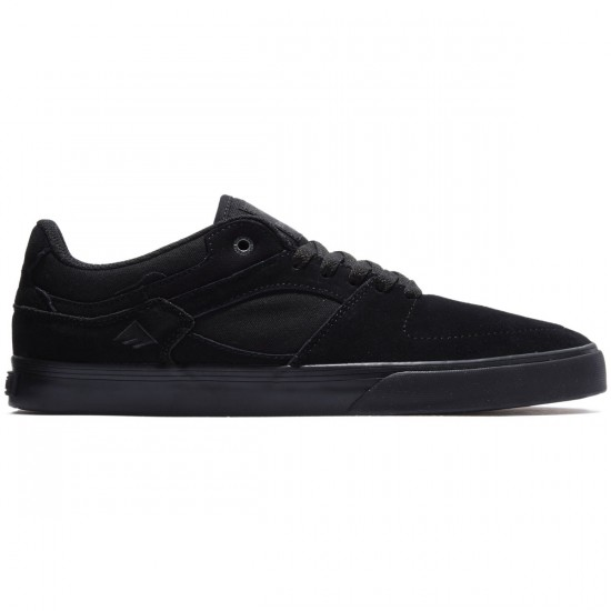 Emerica The Hsu Low Vulc Shoes - Black/Black - 8.0