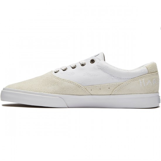 Emerica X Hard Luck PSV Shoes - White - 8.0