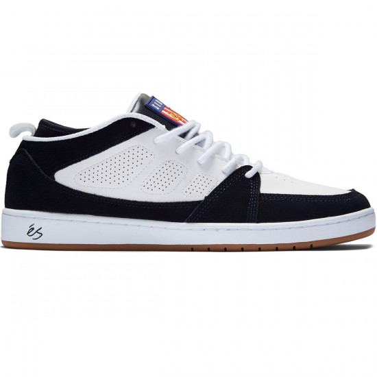 eS SLB Mid Shoes - White/Navy - 8.0