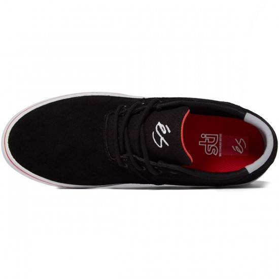 eS Accel SQ Shoes - Black/White/Red - 8.0