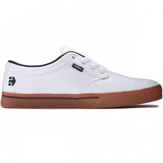 Etnies Jameson 2 ECO Shoes - White/Black/Gum - 8.0