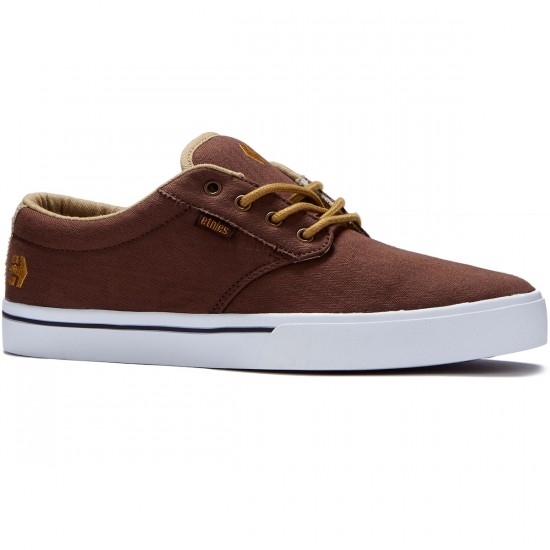 Etnies Jameson 2 ECO Shoes - Brown/Tan/White