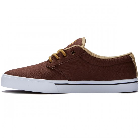 Etnies Jameson 2 ECO Shoes - Brown/Tan/White - 8.0