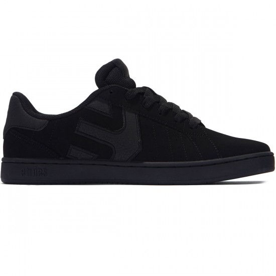 Etnies Fader LS Shoes - Black/Raw - 8.0