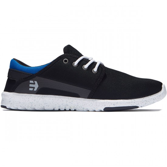 Etnies Scout Shoes - Black/Blue/Black - 8.0