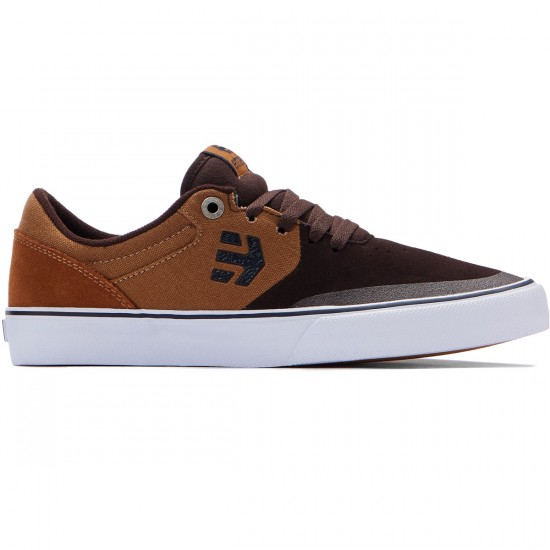 Etnies Marana Vulc Shoes - Brown/Tan - 7.0
