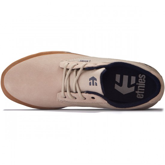 Etnies Jameson Vulc Shoes - Stone - 8.0