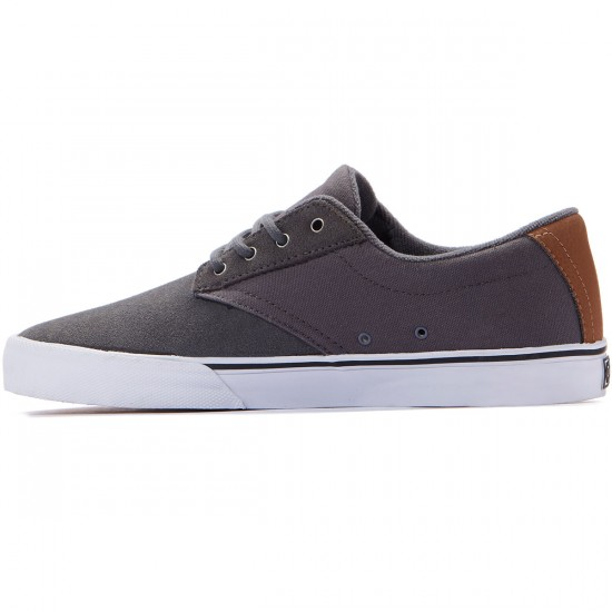 Etnies Jameson Vulc Shoes - Grey/Brown - 8.0