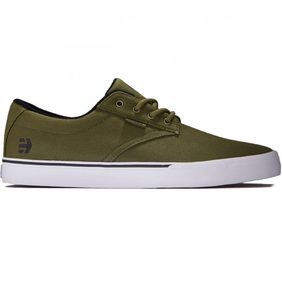 Etnies Jameson Vulc Shoes - Olive - 8.0