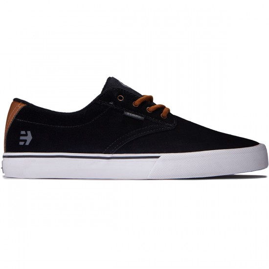 Etnies Jameson Vulc Shoes - Black/Brown/Grey - 8.0
