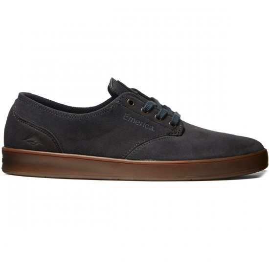 Emerica The Romero Laced Shoes - Grey/Gum - 8.0