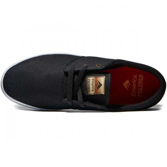 Emerica The Figueroa Shoes - Black/Brown - 8.0