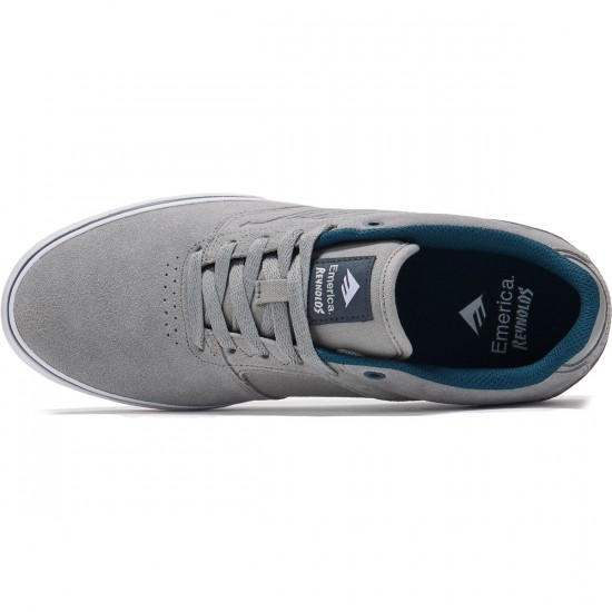 Emerica The Reynolds Low Vulc Shoes - Grey/Blue - 8.0