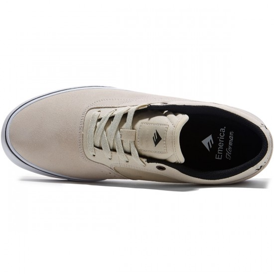 Emerica The Herman G6 Vulc Shoes - White - 8.0