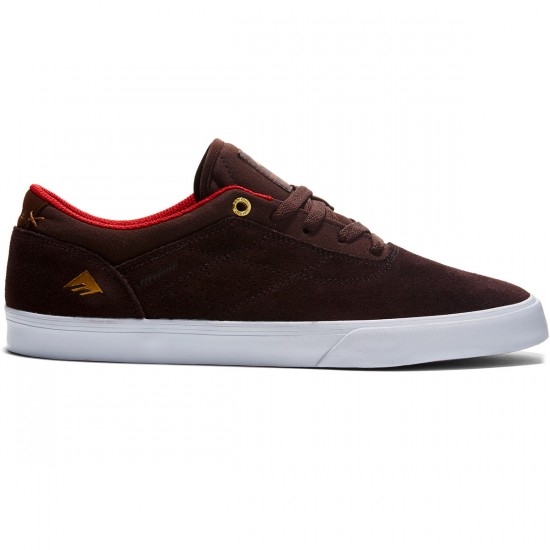Emerica The Herman G6 Vulc Shoes - Brown/White - 8.0