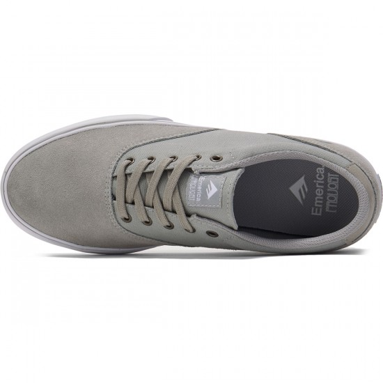 Emerica Provost Slim Vulc Shoes - Grey - 8.0