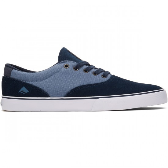 Emerica Provost Slim Vulc Shoes - Navy/Blue/White - 8.0