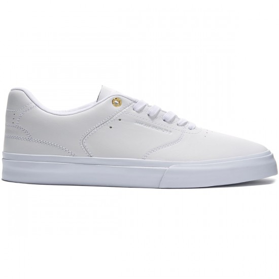 Emerica RLV Reserve Shoes - White/White - 8.0