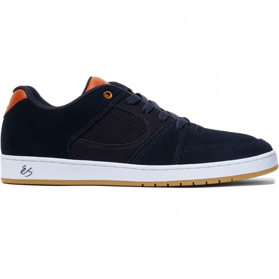 eS Accel Slim Shoes - Navy/Brown/White - 8.0