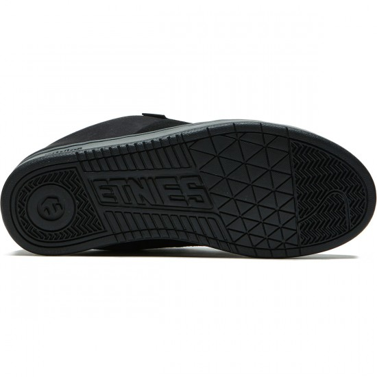 Etnies Kingpin Shoes - Black/Charcoal/Red - 8.0