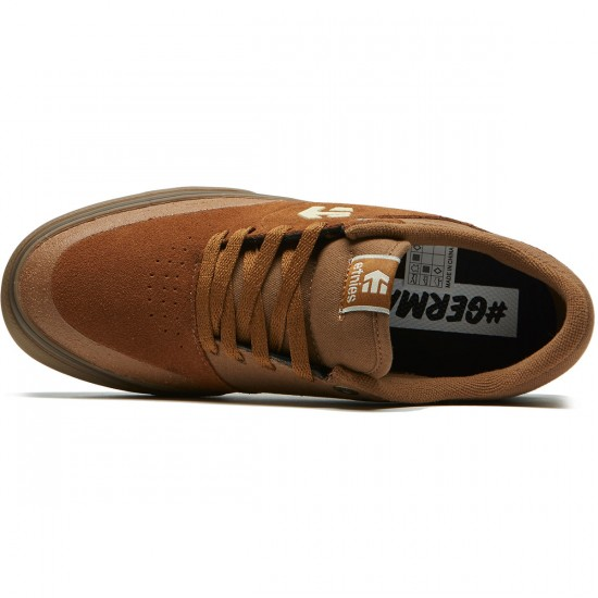 Etnies Marana Vulc Shoes - Brown/Gum - 8.5
