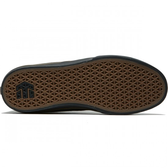 Etnies Jameson Vulc Shoes - Black/Black/Gum - 8.0