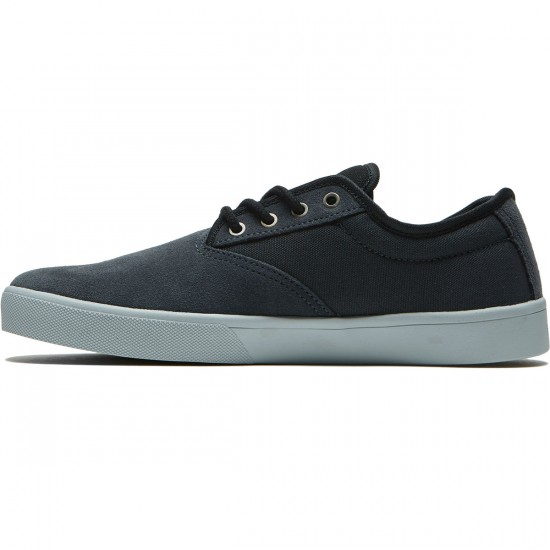 Etnies Jameson SL Shoes - Grey/Black/Silver - 8.5