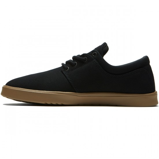 Etnies Barrage SC Shoes - Black/Gum