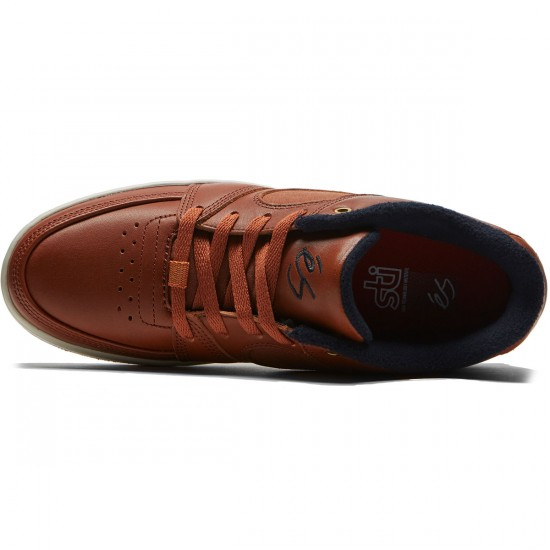 eS Accel Slim Shoes - Brown/Sand - 8.0