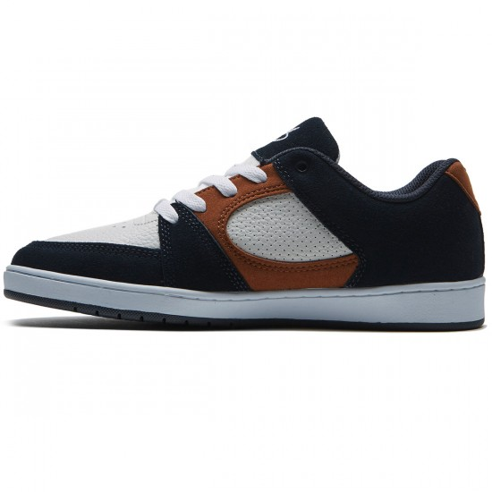 eS Accel Slim Shoes - Navy/Tan/White - 8.0