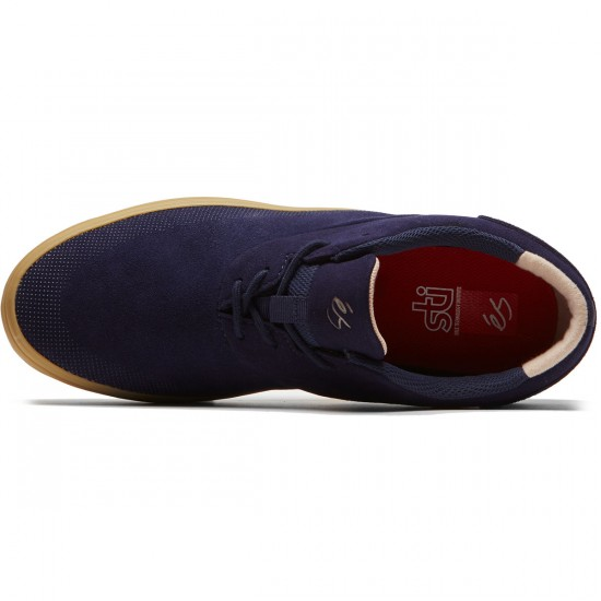 eS Arc Shoes - Navy/Gum - 8.0