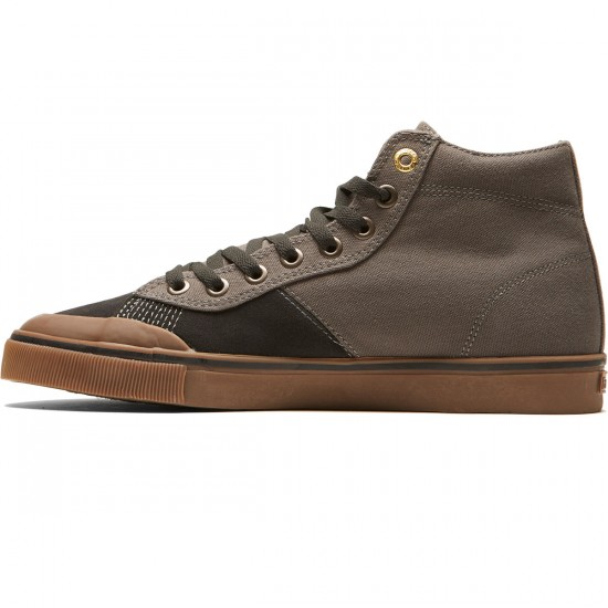 Emerica Indicator High Shoes - Dark Grey/Black/Gum