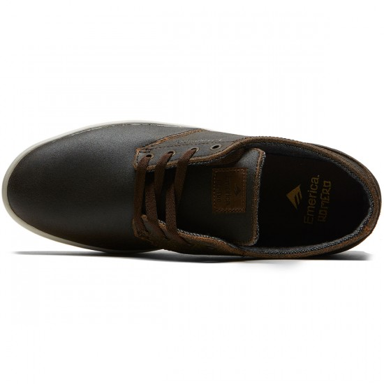 Emerica The Romero Laced Shoes - Brown/Gum/Gold - 8.0