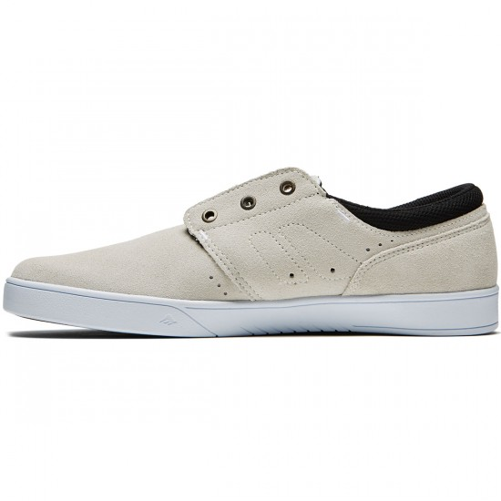 Emerica The Figueroa Shoes - White/White/Black - 8.0