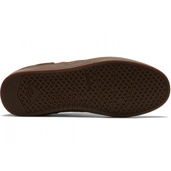Emerica The Figueroa Shoes - Brown/Gum/Gold - 8.0
