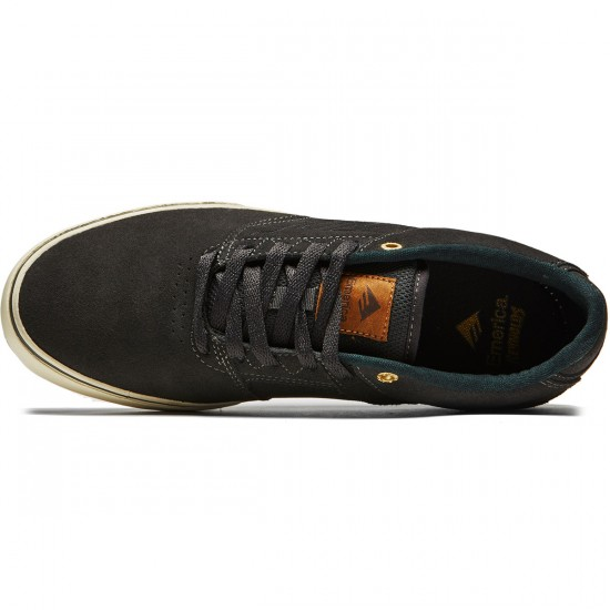 Emerica The Reynolds Low Vulc Shoes - Dark Grey - 8.0