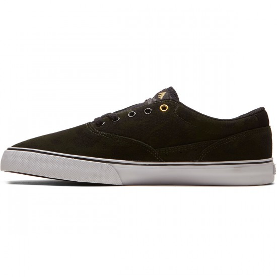 Emerica Provost Slim Vulc Shoes - Green/Black/White - 11.0