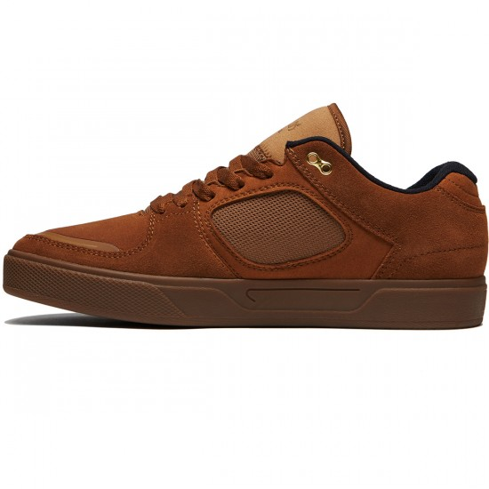 Emerica Reynolds G6 Shoes - Brown/Gum - 8.0