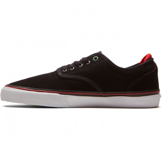 Emerica Wino G6 X Sriracha Shoes - Black/Red - 8.0