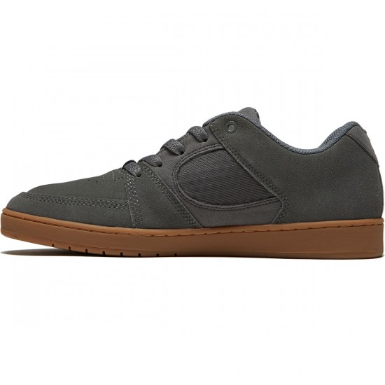 eS Accel Slim Shoes - Grey/Gum - 8.0