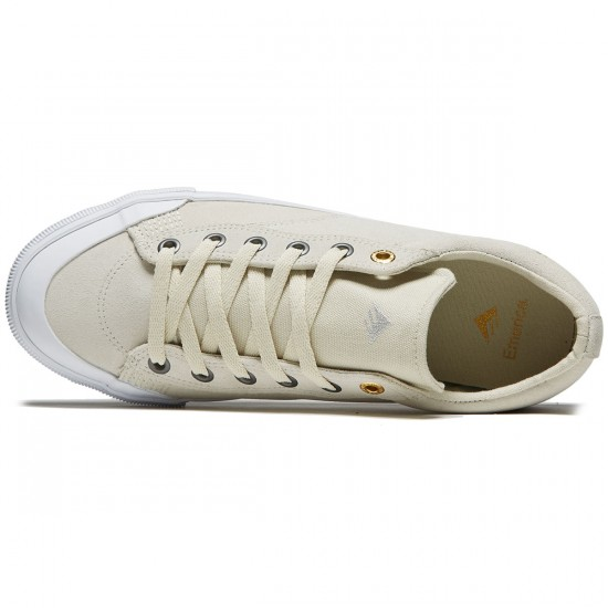 Emerica Indicator Low Shoes - White/White - 8.0